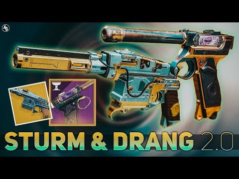 Sturm & Drang (Baroque) (Sturm BUFF & Year 2 Drang) | Destiny 2 Season of Opulence