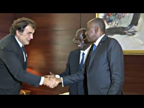 Audience du Premier Ministre, Amadou Gon Coulibaly accordée au directeur général de Somdiaa