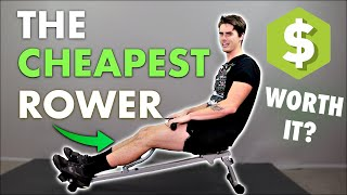 This is the CHEAPEST Rower - Worth It?!