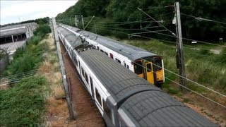 preview picture of video 'Cheshunt Trainspotting (10th August 2013)'
