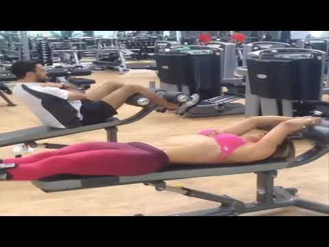 Ćwiczenia na mięśnie zębatego wideo