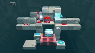 Death Squared : Level 41-50 Walkthrough {Gameplay / ios}