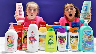 Don't Choose The Wrong Shampoo Slime Challenge!!