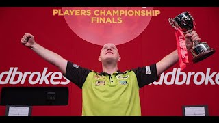 A Raw and Emotional Michael van Gerwen on Winning the Players Championship as he's backing Winning
