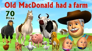 Old MacDonald Had A Farm  - Kids' Songs Collection | Nursery Rhymes for Children
