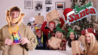 SECRET SANTA PRESENT SWAP!! FULL BARKER FAMILY!!