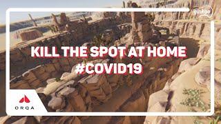 Kill the spot at Home #COVID19 #FPV sur Orqa