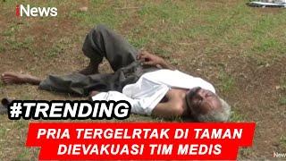 Demam Tinggi dan Tergeletak di Taman Kawasan Cakung, Pria Dievakuasi Tim Medis - iNews Siang 31/03