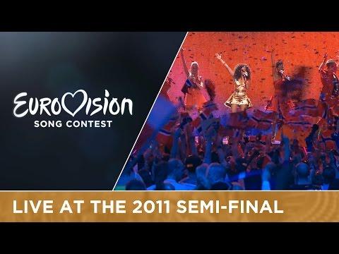 Stella Mwangi - Haba Haba (Norway) Live 2011 Eurovision Song Contest