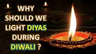 Diwali | The reason behind lighting diyas during diwali | mythological world