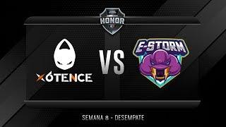 x6tence VS ESTORM | Jornada 15 | División de Honor 2019 - Apertura