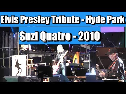 "Suzi Quatro - Johnny BGoode - Elvis Presley Tribute Gig - 12""Sep 2010"