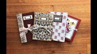 Assorted Handmade Junk Journals / Treasure Books (Etsy Restock)