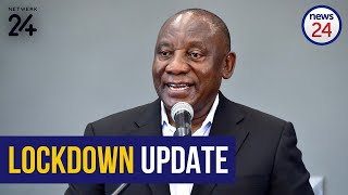 WATCH LIVE | President to update nation on lockdown