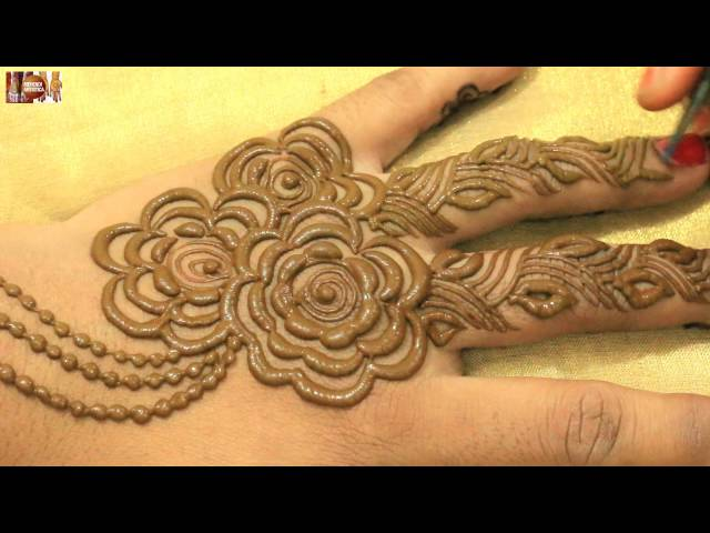 Video Stylist Mehndi Hinna Designs For Upper Hands Beautiful Gulf