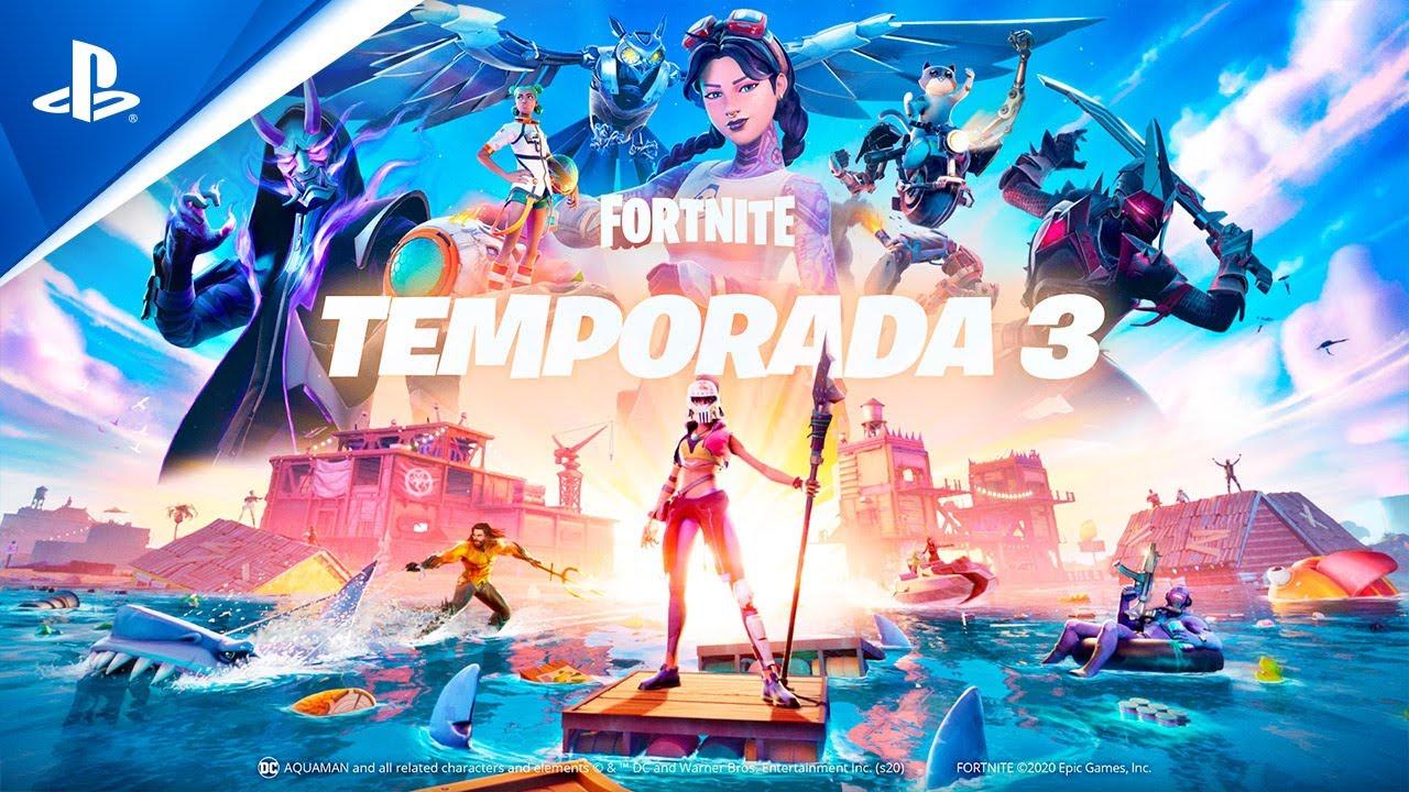 O Capítulo 2 – Temporada 3 de Fortnite chega hoje para PS4