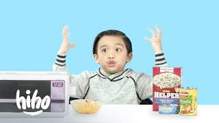 Kids Try Y2K Survival Food | HiHo Kids