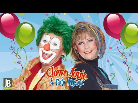 Kindershow boeken of huren van Clown Jopie & Tante Angelique | JB Productions
