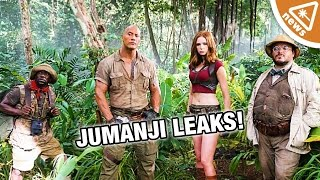 What the Jumanji Leaks Reveal about the Movie! (Nerdist News w/ Jessica Chobot)