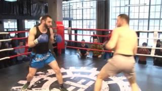 Массовая драка на турнире по Боксу1