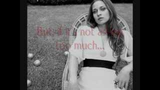 PLEASE SEND ME SOMEONE TO LOVE performed FIONA APPLE (WITH LYRICS)