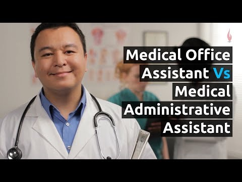 Medical Office Administration (MOA) vs Medical Assistant (MA ...