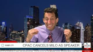Breaking News: CPAC rescinds invitation to Milo Yiannopoulos