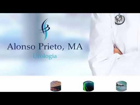 Mulher massagem urologista próstata