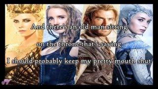 Halsey   Castle   Lyrics ( The Huntsman: Winter's War )