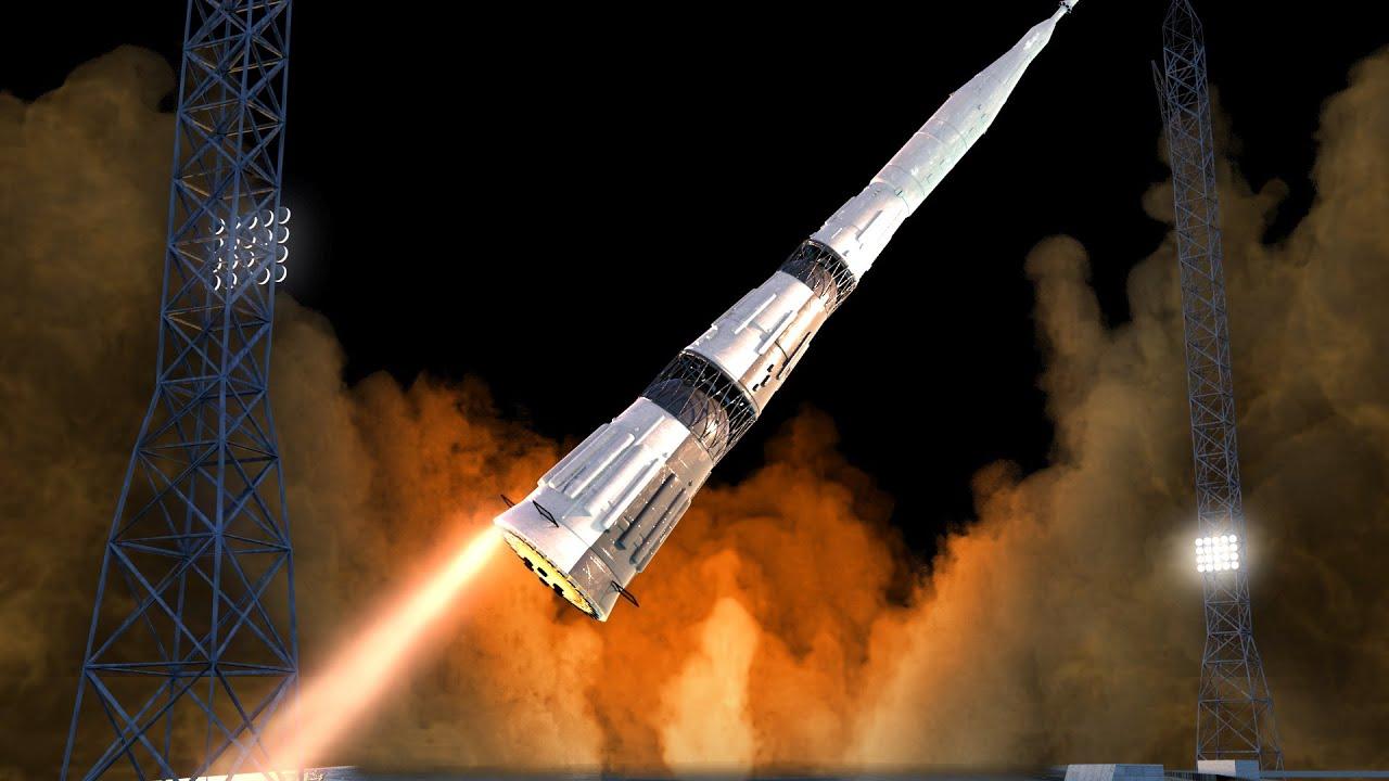 Los cuatro lanzamientos fallidos del cohete soviético N1
