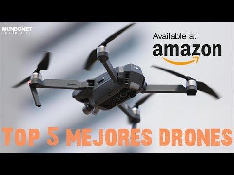Top 5 mejores Drones  disponibles en Amazon 2018