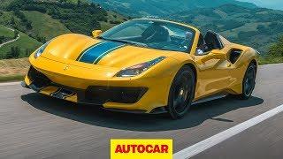 [Autocar] 2019 Ferrari 488 Pista Spider review   The best convertible supercar?