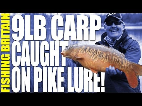 Carp fishing with a Pike Lure – Fishing Britain, episode 7