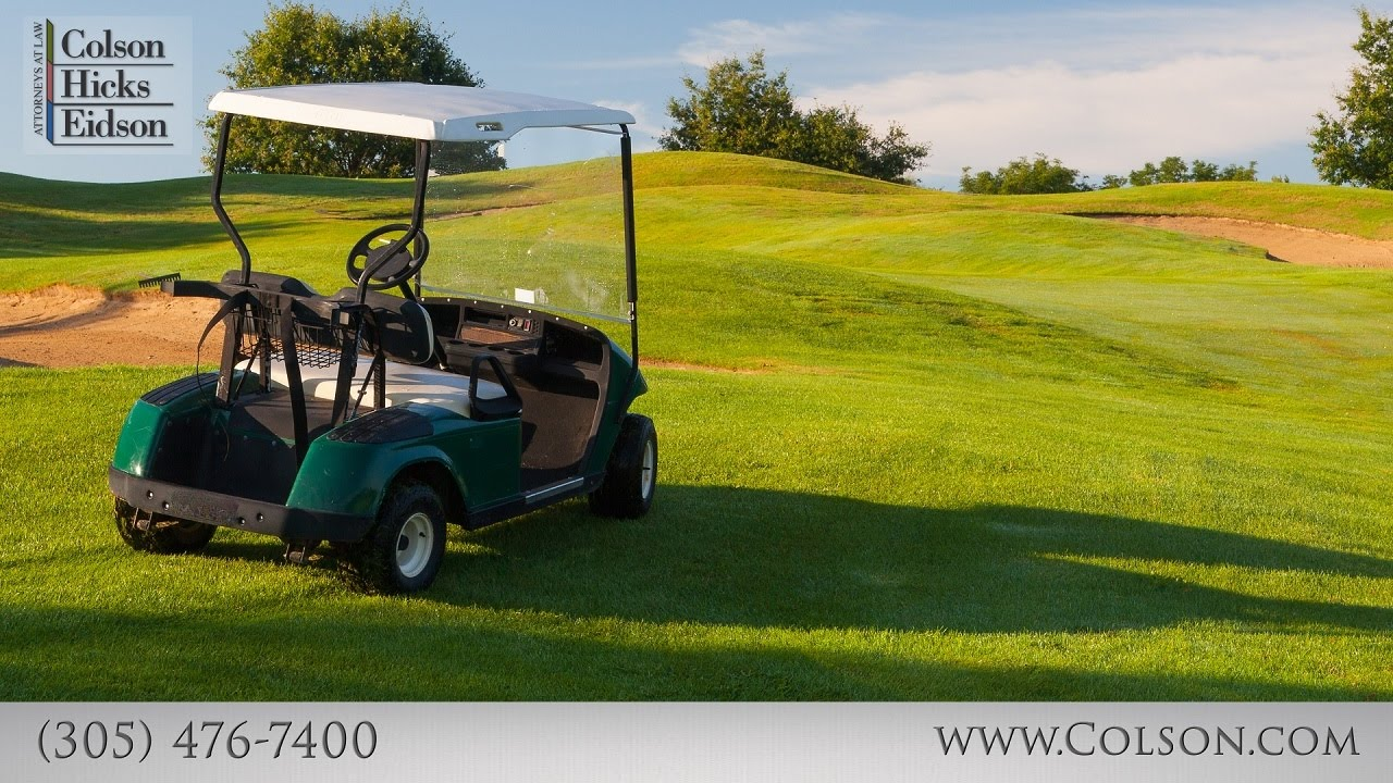 Are Golf Course Accidents Serious?