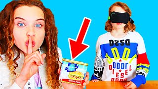 SABRE CHEATED in ICE CREAM SUNDAE Blindfold Challenge w/ The Norris Nuts