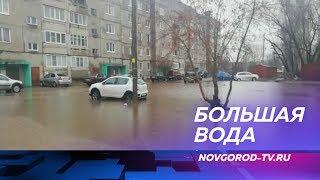В Новгородской области из-за обильных дождей подтоплено сразу семь районов