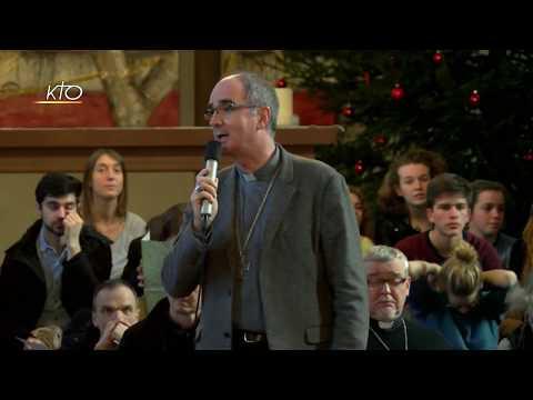 """Taizé Mgr Percerou : """"Le Christ les appelle à vivre dans la joie"""""""