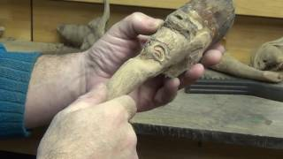 How To Carve A Wood Spirit Goblin 5 Carving