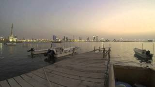 preview picture of video 'BAHRAIN MANAMA TIME LAPS'