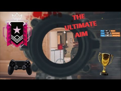 What The Best Aim on Controller Looks Like! Champion Ranked - Rainbow Six Siege