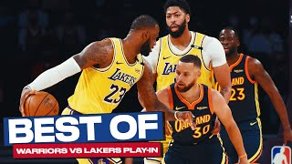 Best of Warriors & Lakers Play-in Game (2020-2021)! 🔥👀