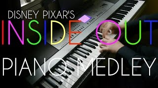 Disney Pixar's Inside Out 2015 Soundtracks (Piano Suite)