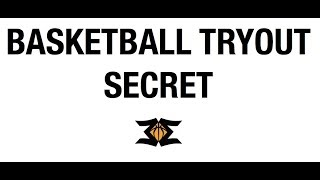 Basketball Tryout Secret to Impress the Coach