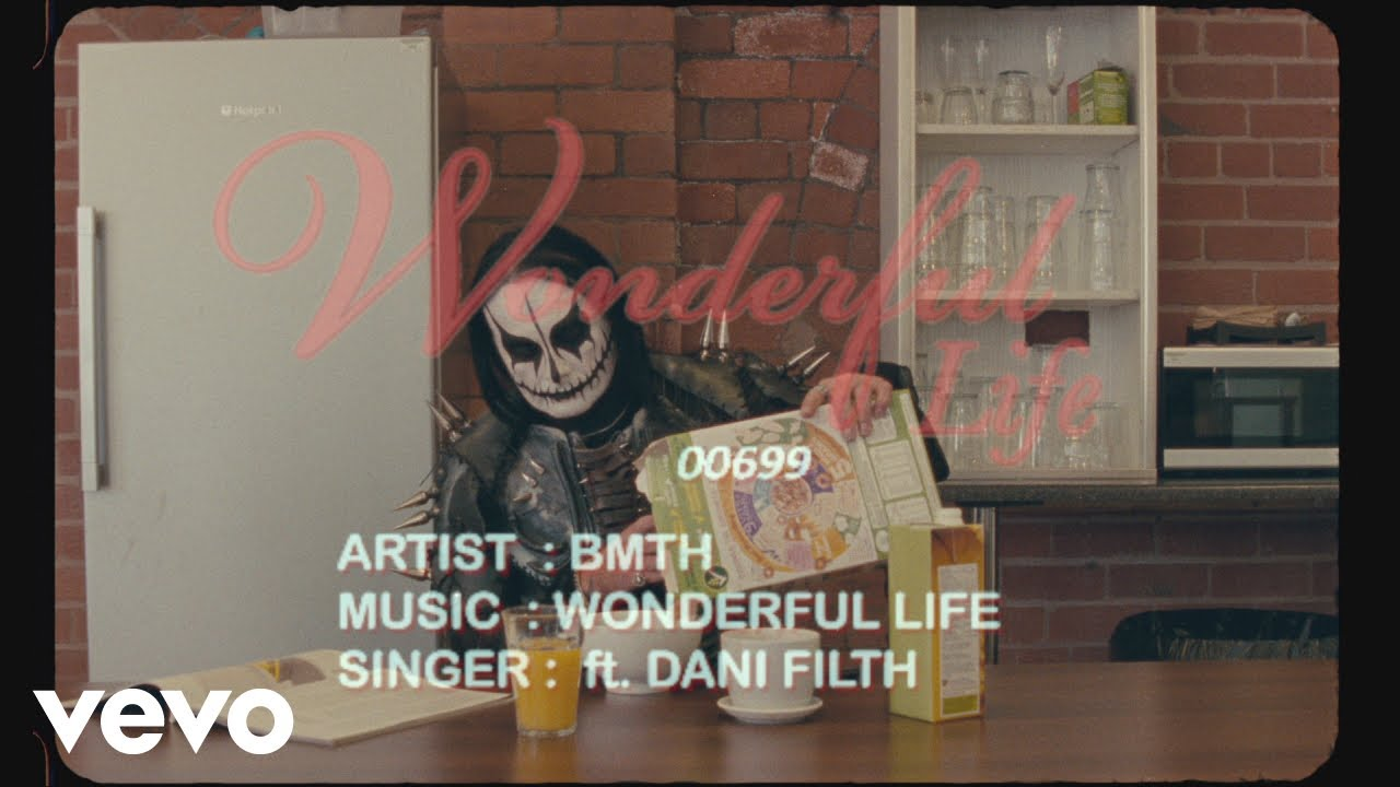 Bring Me The Horizon ft. Dani Filth — Wonderful Life (Lyric Video)