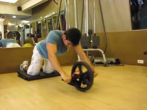 Ravi Seth's Vlog 39 Hussian performing Rollers Abs workout...