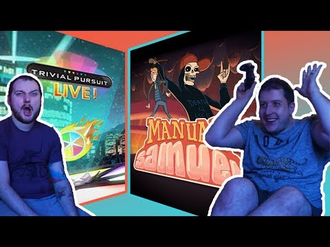 LET'S PLAY: Manual Samuel & Trivial Pursuit Live!