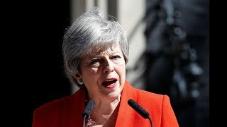 British PM Theresa May announces resignation - VIDEO