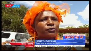 Tension in Taita Taveta as ODM election officials gubernatorial announce the provisional results