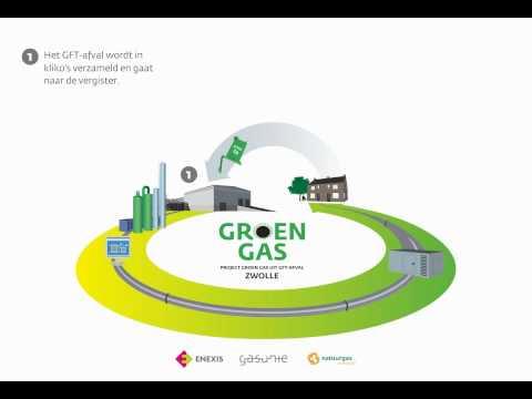 Infographic groengas