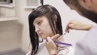 Качественные стрижки. Женская форма на вьющиеся волосы